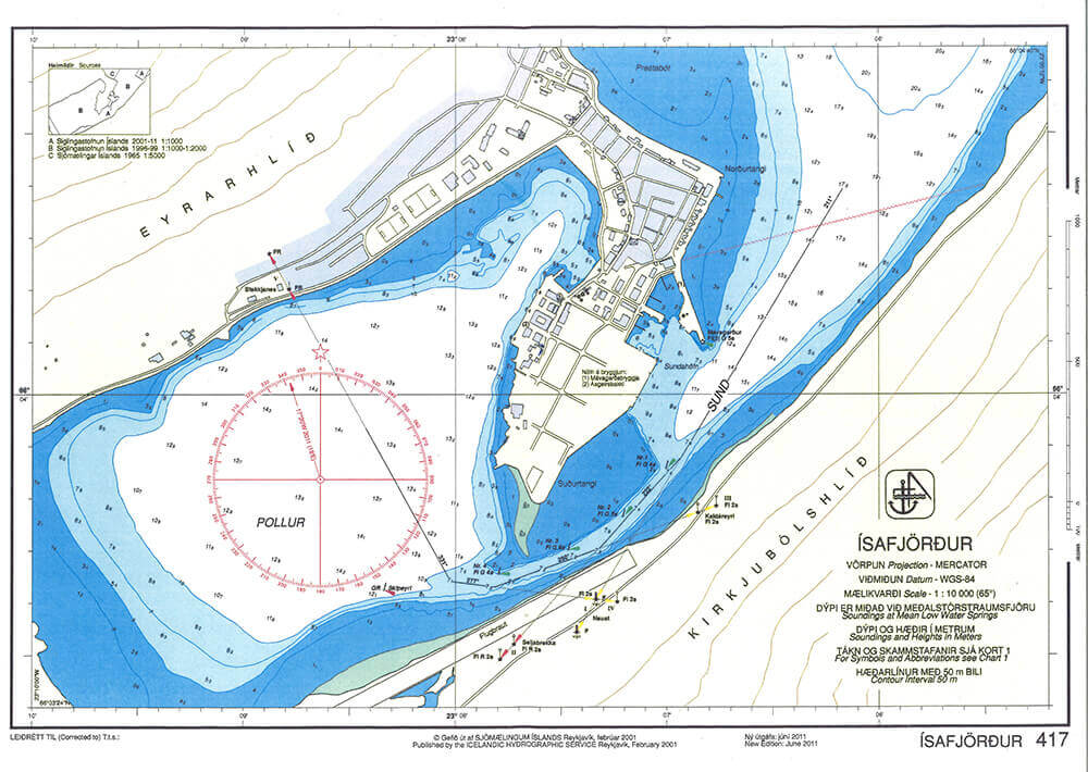 Port Map Ísa